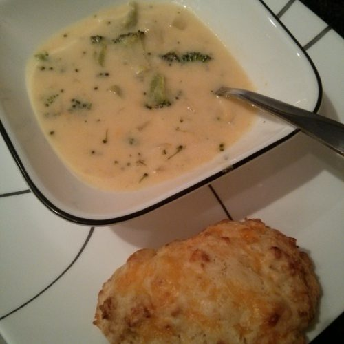 best broccoli and cheese soup ever