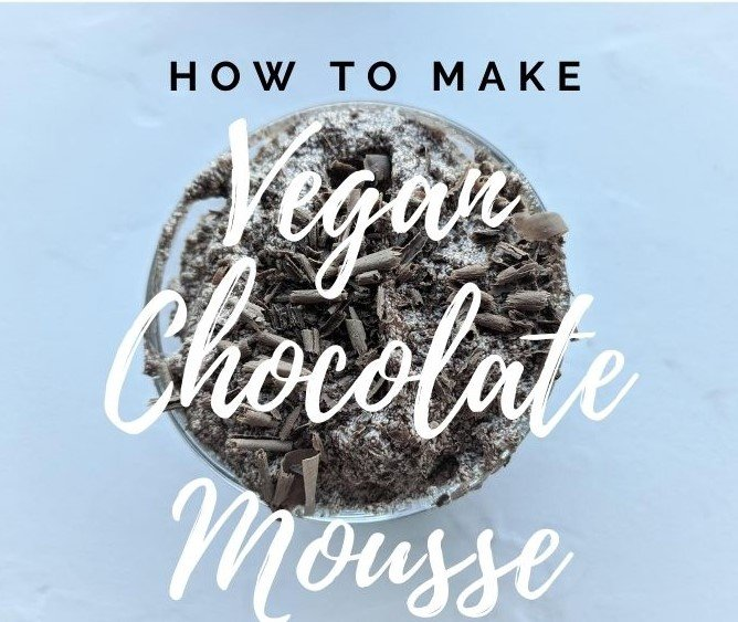 How to make vegan chocolate mousse