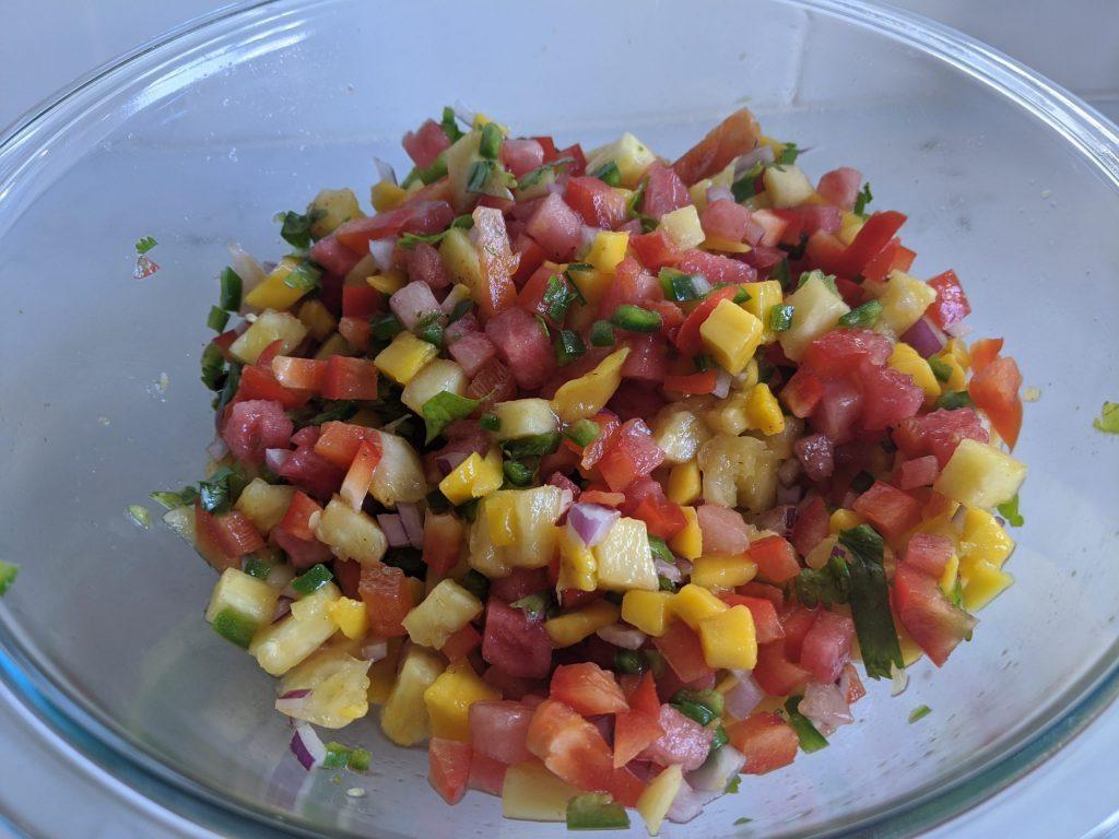 watermelon mango salsa recipe