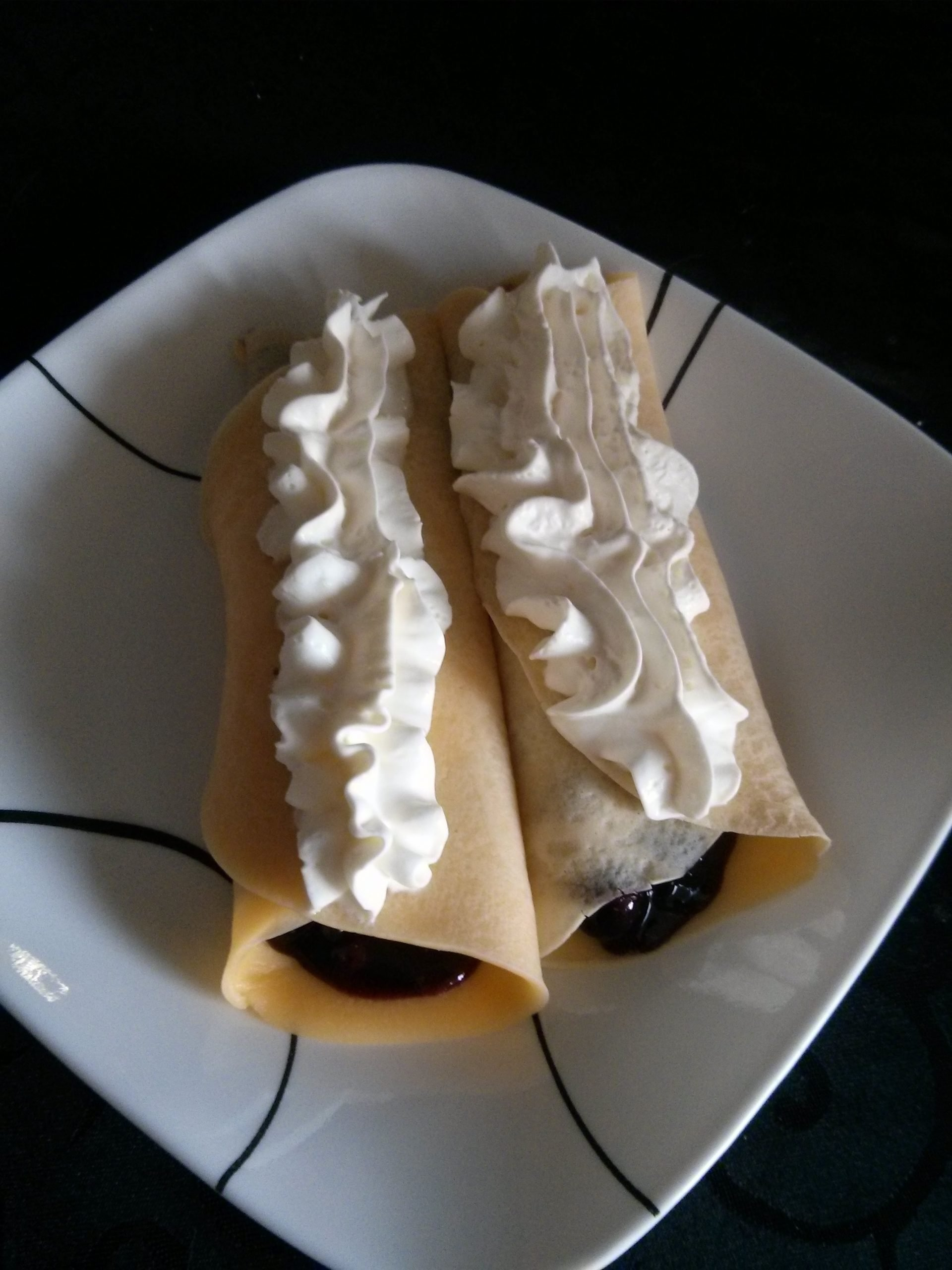 Blueberry Crepes Recipe