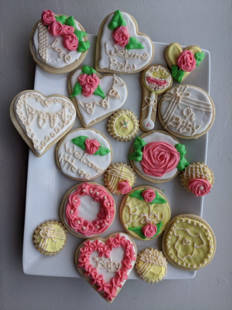 heart shaped cookies decorating ideas