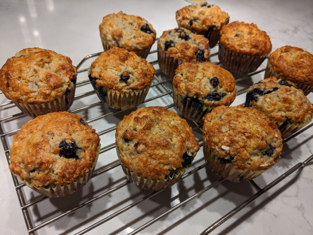 How to mash bananas for muffins