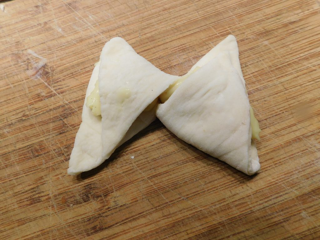 How to make a butterfly shaped Danish