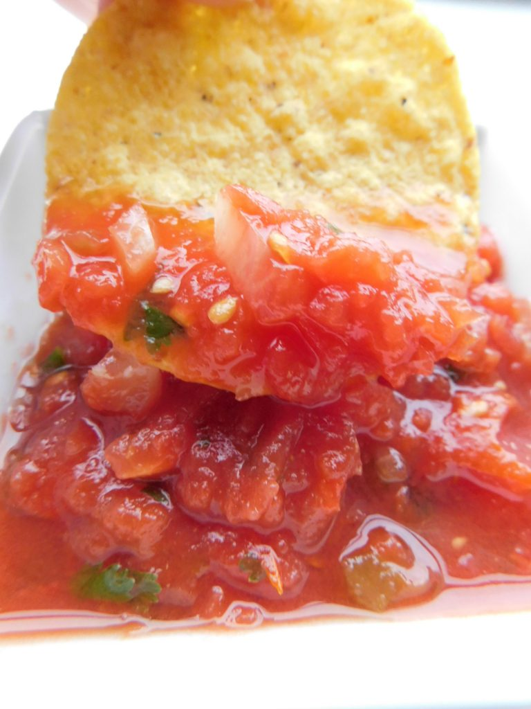 What does restaurant style salsa mean