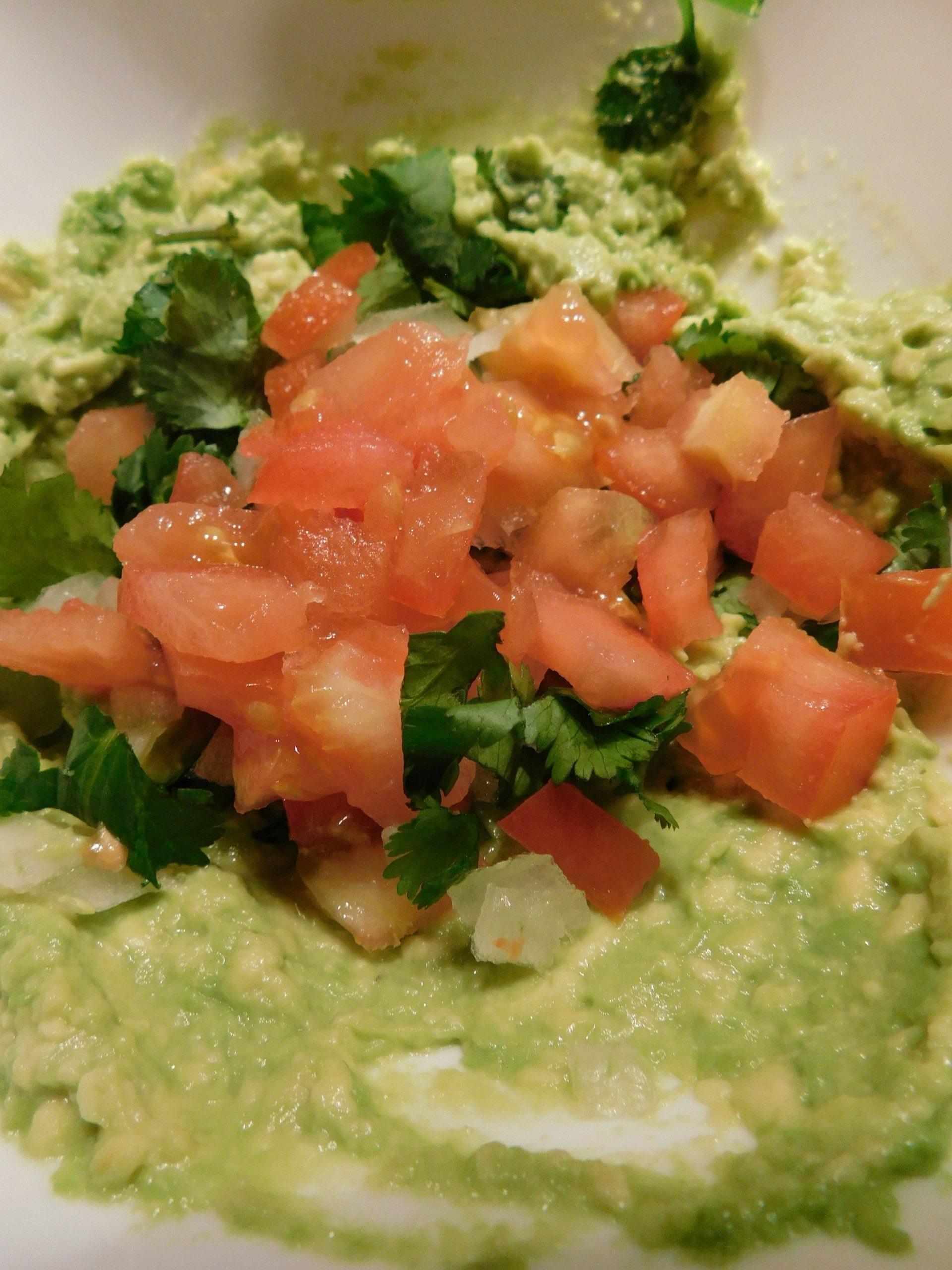 Simple Guacamole Recipe with One Avocado