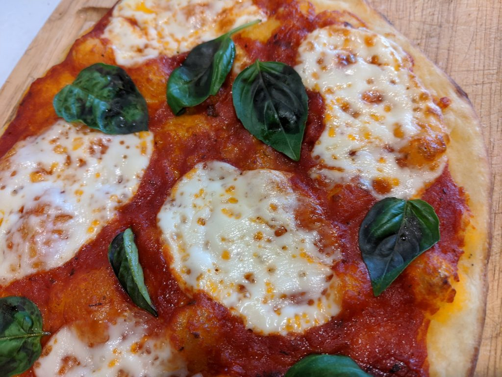 How to make Margherita Pizza with San Marzano Pizza Sauce