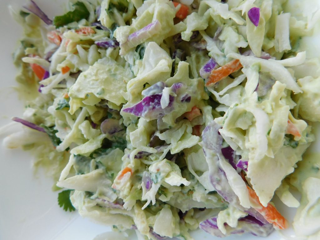 What kind of tacos can you use cabbage coleslaw with