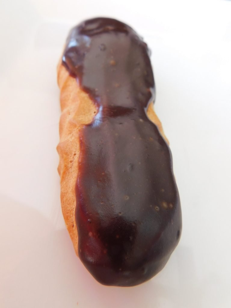 How do you know when eclairs are finished baking