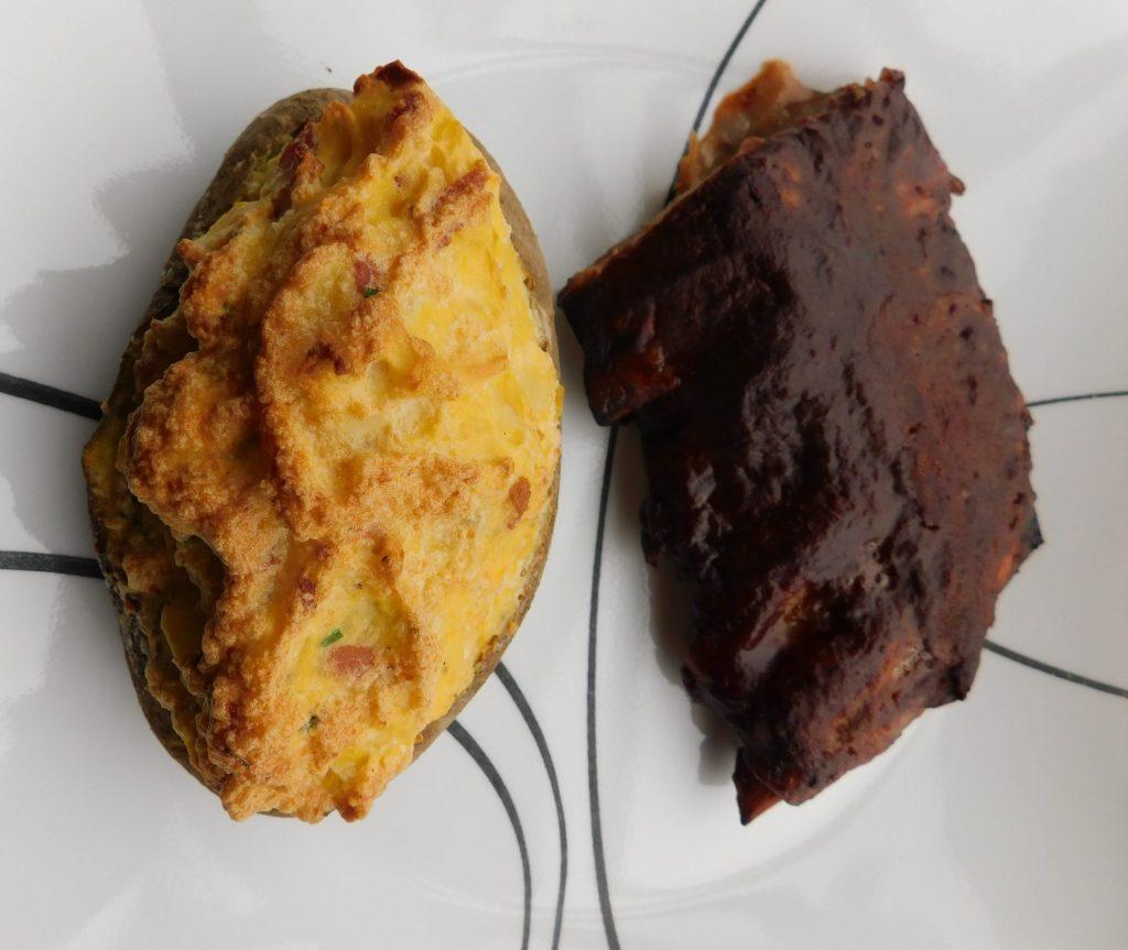 Potato side dish for ribs