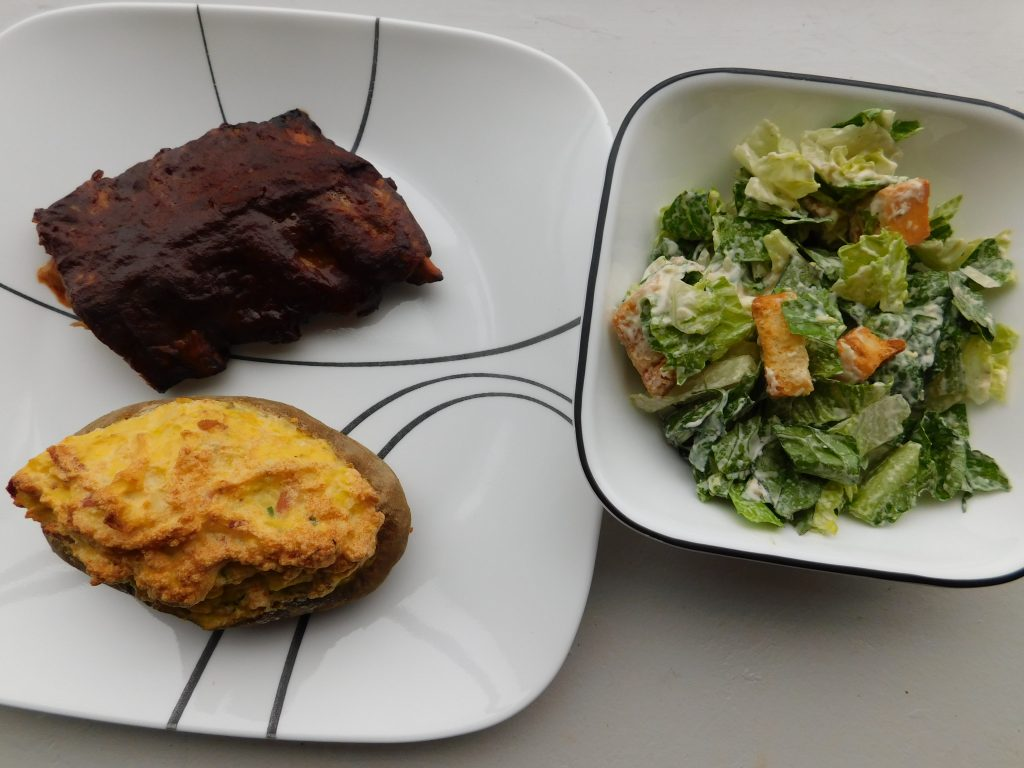 Healthy side dishes for ribs