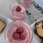 Vegan Raspberry Mousse Without Gelatin