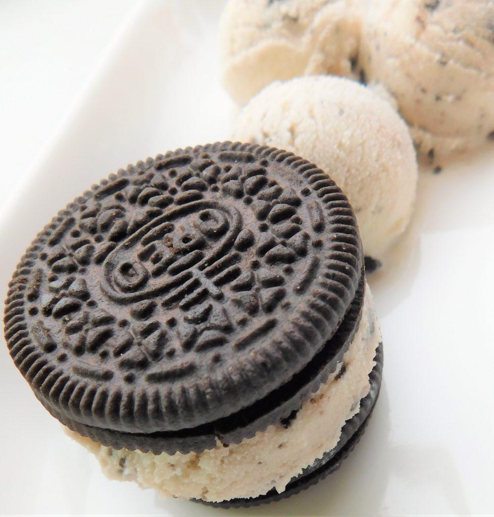 cookies and cream oreo ice cream